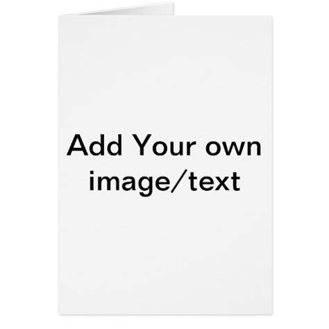 blank folded note card template blank note card template zazzle