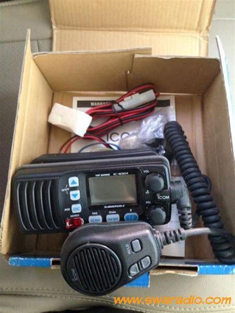Jual Swr Sx 401 Baru Radio Komunikasi Elektronik Terbaru dijual icom marine ic m304 swaradio