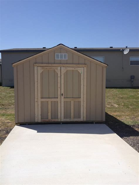 backyard barns wood storage sheds san antonio