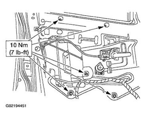 2002 ford explorer parts diagram 2002 ford explorer window regulator installation