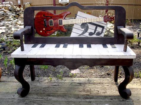 musical bench guitar music bench streetart publicart musicart http