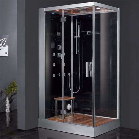 ariel bathroom ariel platinum dz959f8 black left steam shower ariel bath
