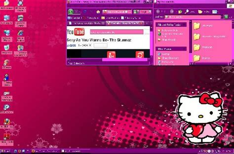 hello kitty themes pc free download themes for pc hello kitty puple and pink ws for xp