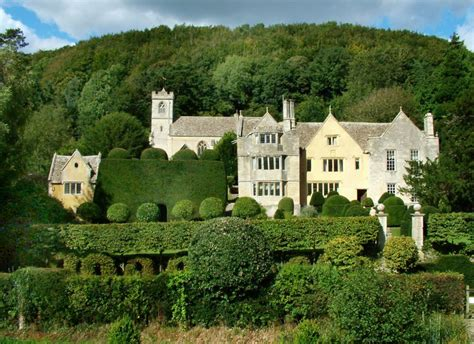 Hillside Homes owlpen manor garden