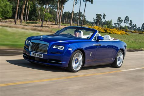 rolls royce dawn blue rolls royce dawn 2016 uk review pictures auto express
