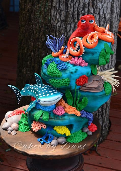 unique finding nemo decorations 14 finding dory cake cookie and cupcake ideas