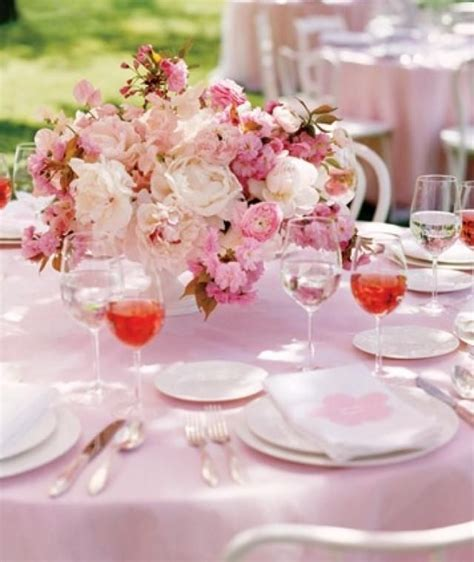 cherry blossom wedding centerpiece pretty weddings
