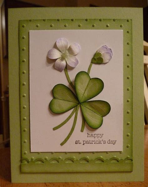 Handmade With St - 8 best images about cards st patricks day on
