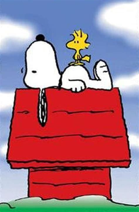 Free Coloring Page Of Snoopy On His House Snoopy Dog