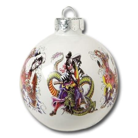 samurai warrior christmas ornament japanese christmas
