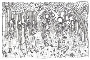 botticelli s la primavera hp comics and artworks