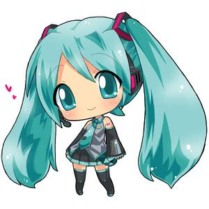 imagenes kawaii anime vocaloid chibi hahifuhe hatsune miku vocaloid manga anime
