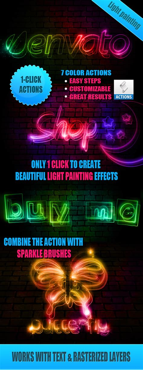 light runner photoshop action light painting effect photoshop actions by psddude