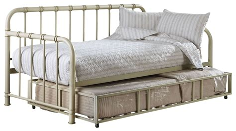 White Trundle Daybed Tristen White Trundle Daybed From Standard Furniture Coleman Furniture