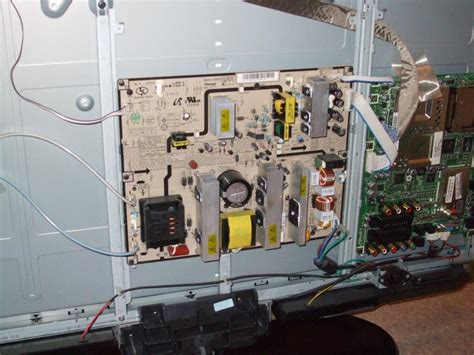 tv wont turn on capacitors are samsung le40m87bd 40 quot lcd tv clicks but won t turn on diynot forums
