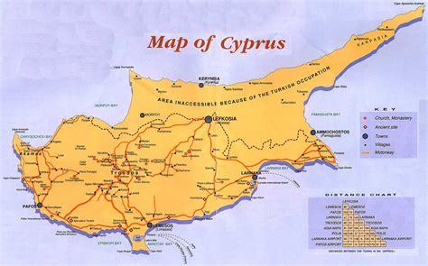 cyprus map cyprus guide map cyprus mappery