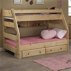 trendwood sedona bookcase bed with underdresser