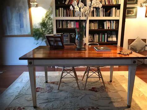 mesa de comedor de segunda mano por  en madrid en wallapop en  mesas de comedor