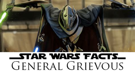 General Grievous Memes - star wars facts general grievous general grievous meme on me me