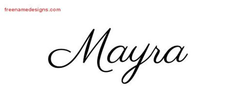 mayra archives free name designs
