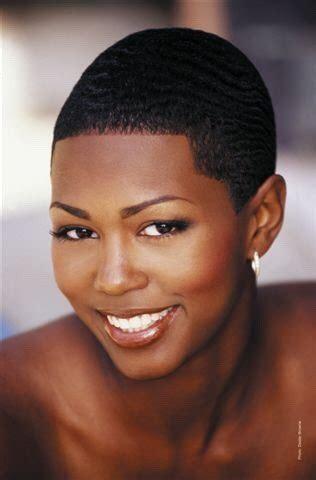 female low cut natural hair kimreesesdaughter