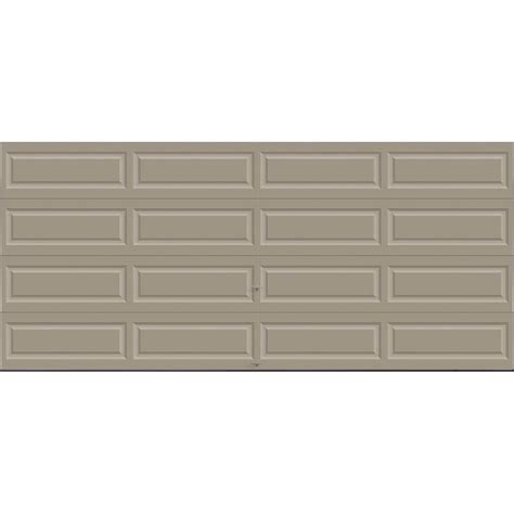 16 X 7 Insulated Garage Door by Clopay Premium Series 16 Ft X 7 Ft 18 4 R Value