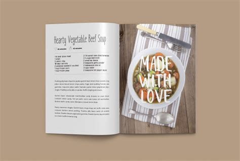 cookbook layout template cookbook template 25 free psd ai eps vector format