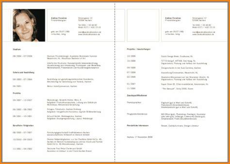Aufbau Antichronologischer Lebenslauf 8 Lebenslauf Aufbau Reimbursement Format