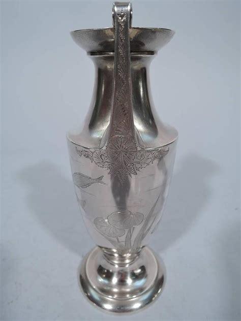 Gorham Vase by Gorham Japonesque Antique Sterling Silver Hora Vase For Sale At 1stdibs