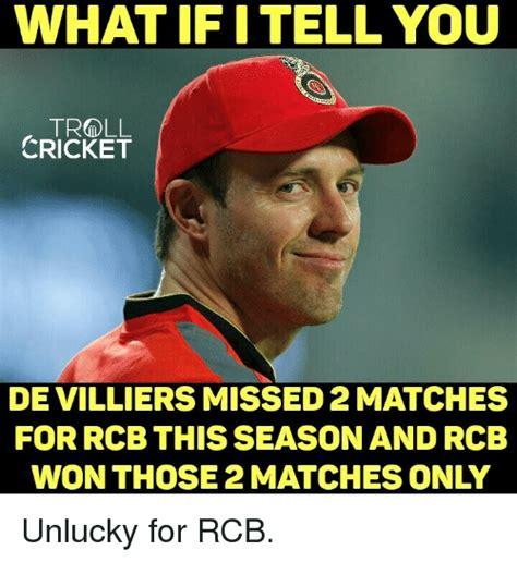 Rcb Memes - 25 best memes about troll cricket troll cricket memes