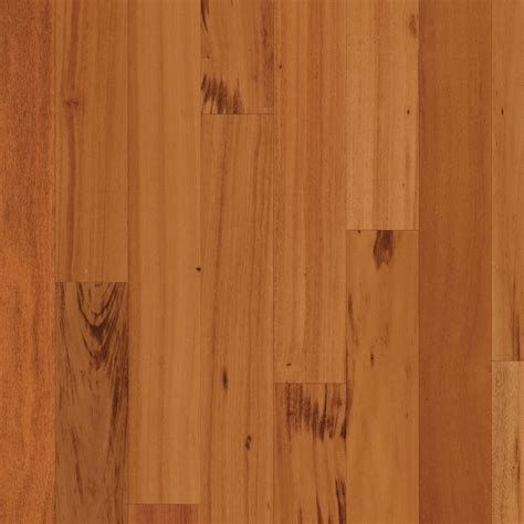 shop natural floors by usfloors tigerwood hardwood flooring sle natural at lowes com