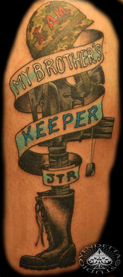 my brother keeper tattoo my brothers keeper by thevendettastudio on deviantart