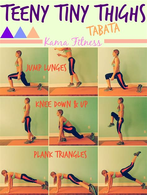 teeny tiny thighs tabata workout by fitness