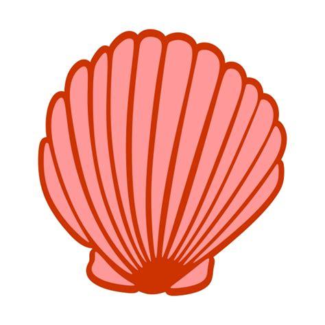 sea shell clip seashell cuttable design