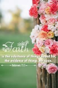 Faith Hebrews 11 1 Scripture