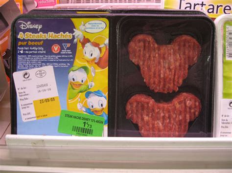 mickey mouse shaped burgers  eats