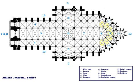 chartres cathedral floor plan file amiens cathedral floorplan jpg wikimedia commons