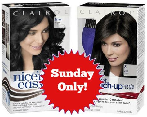 clairol ads current 2014 clairol nice n easy just 1 each sunday only other