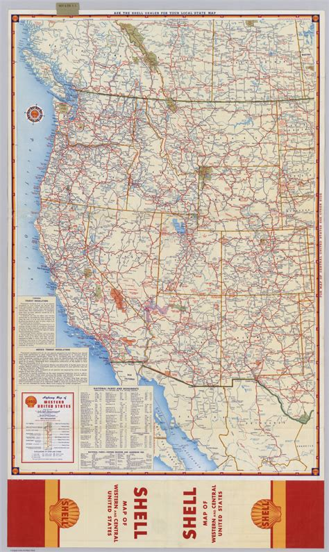 road map of states in usa road map of the western united states