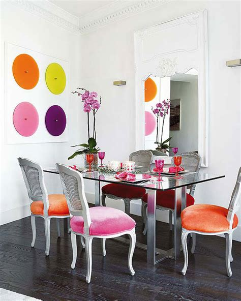 Colorful Dining Room Designs