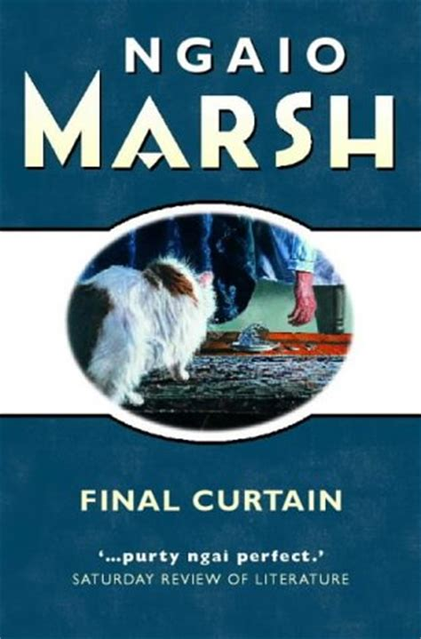 curtain poem summary final curtain roderick alleyn 14 by ngaio marsh