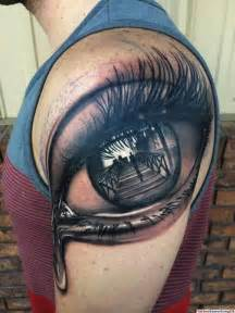 3d tattoo auge mit br 252 cke tattoovorlage