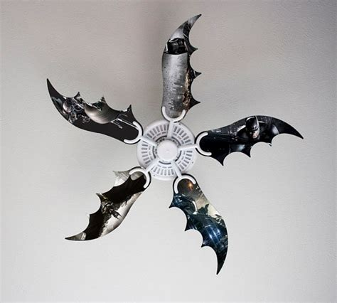 bat wing ceiling fan items similar to bat fan blades with graphics on etsy