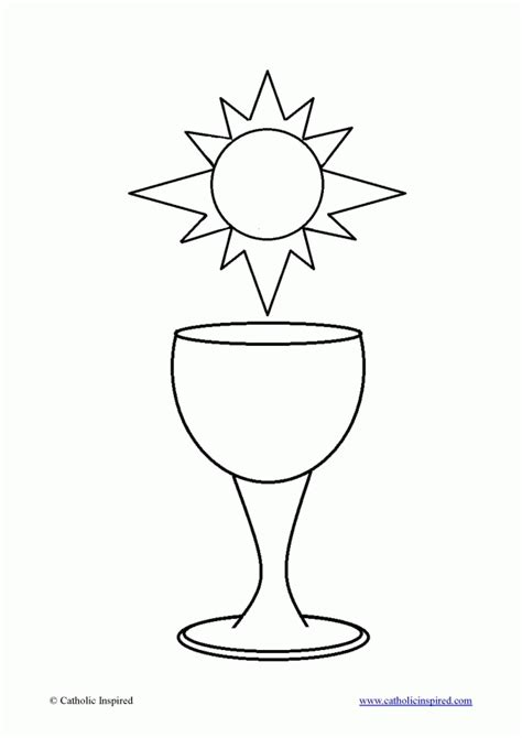 Catechism Coloring Pages chapter handouts children 39 s catechism 246081 eucharist