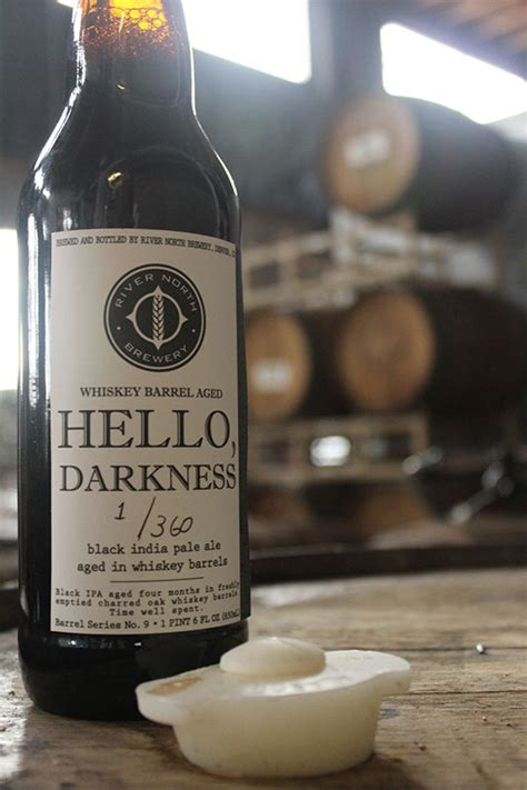 Hello Barrel river brewery to release barrel aged black ipa thefullpint