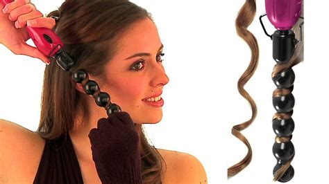 bubble wand curling iron for shorter hair how to video curl collection de revlon hair tools youtube