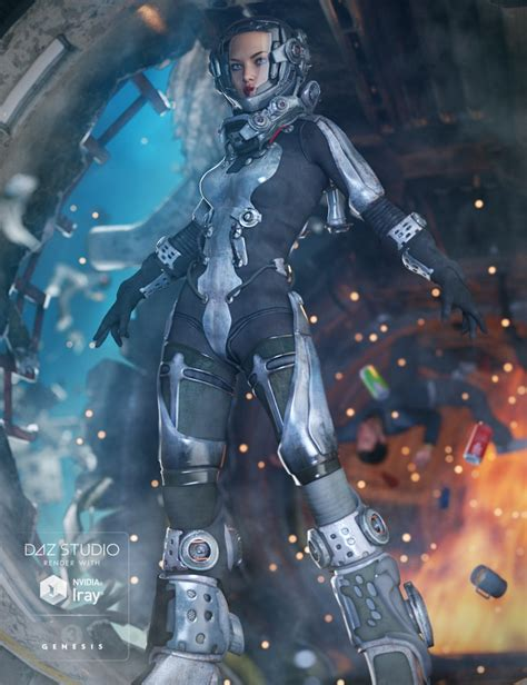 Suit 3 In 1 3 exo suit for genesis 3 s 3d models and 3d