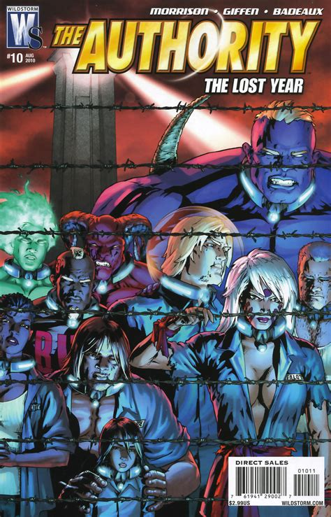 the authority volume 1 1401247075 the authority the lost year vol 1 10 dc database