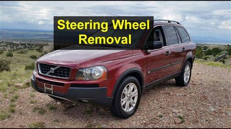 steering wheel removal p volvo  xc votd youtube