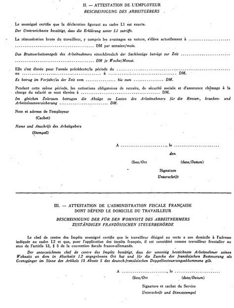 Modele De Lettre Administration Fiscale Modele Attestation Fiscale Employeur Document